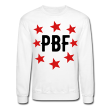 Load image into Gallery viewer, PBF Stars Sweatshirt - white