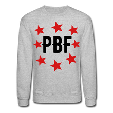 Load image into Gallery viewer, PBF Stars Sweatshirt - heather gray