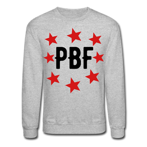 PBF Stars Sweatshirt - heather gray