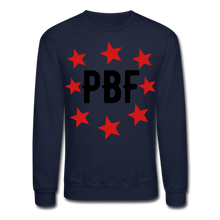 Load image into Gallery viewer, PBF Stars Sweatshirt - navy