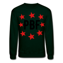 Load image into Gallery viewer, PBF Stars Sweatshirt - forest green