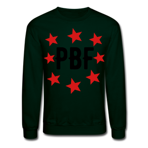 PBF Stars Sweatshirt - forest green