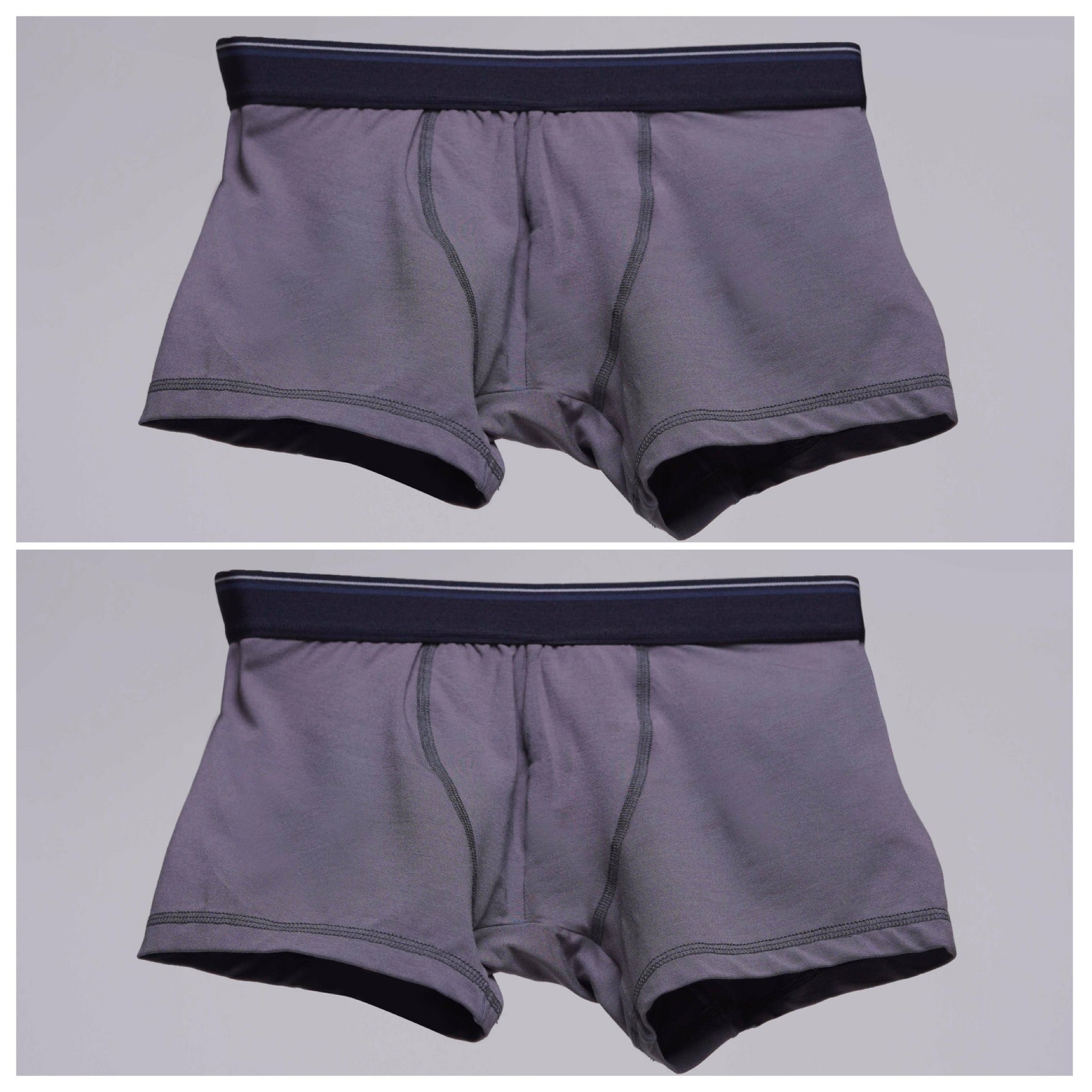Bundle Underwear & Crew Neck Dark Grey