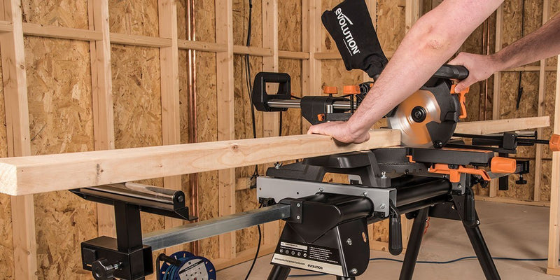 Evolution Mitre Saw Stand | Evolution Power Tools Ltd.