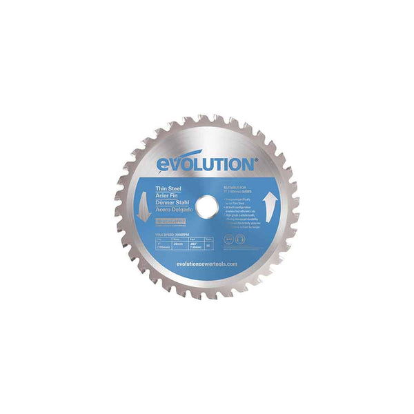 180mm Thin Steel Cutting 68T Blade