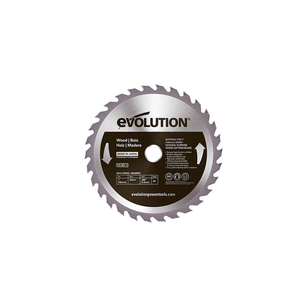 180mm Wood Cutting 30T Blade
