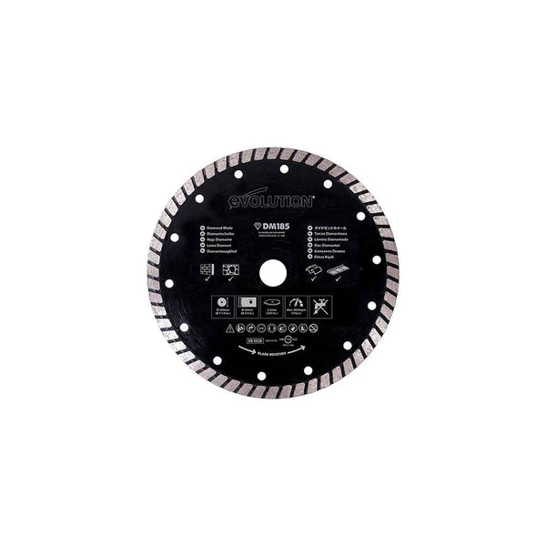 185mm Diamond Blade for circular saws only
