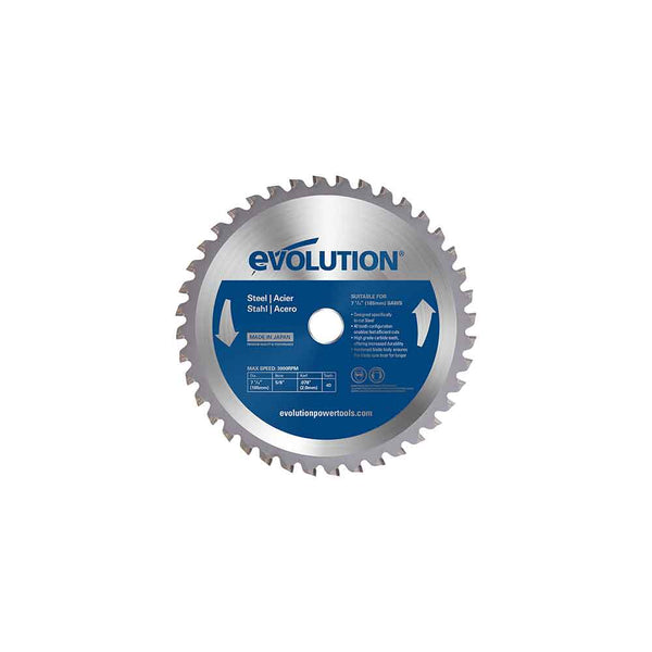 185mm 40T Mild Steel Cutting Blade