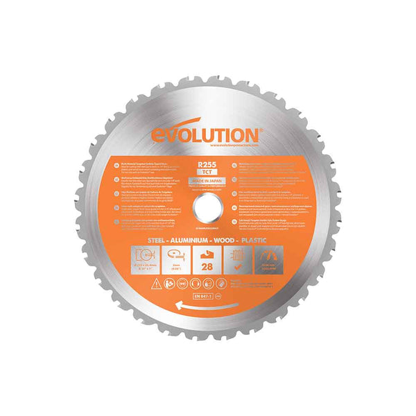 255mm Multi-Material Cutting 28T Blade
