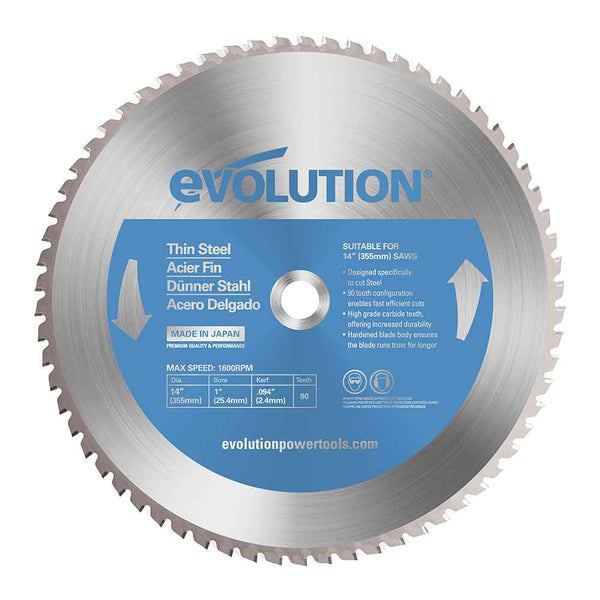 355mm Thin Steel Cutting 90T Blade