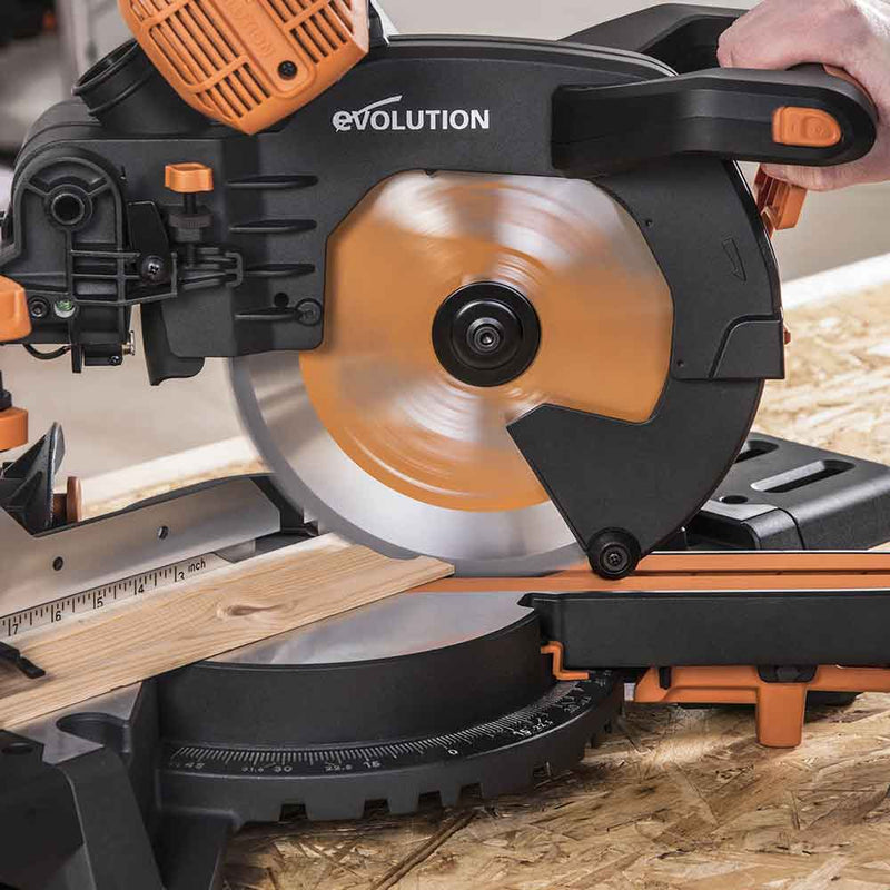 R255SMS-DB+ - 255mm Double Bevel Sliding Mitre Saw