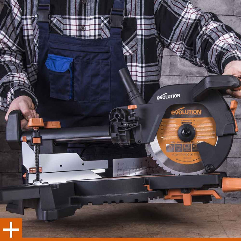 R255SMS+ - 255mm Sliding Mitre Saw