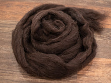 Load image into Gallery viewer, Shetland Wool - Black (4 oz)