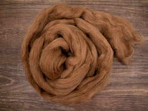 Shetland Wool - Natural Moorit  (4oz)