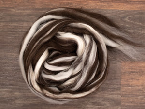 Corriedale Wool   - Humbug (4oz)