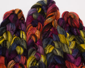 Blueface Lecester BFL Wool/ Silk (4oz)