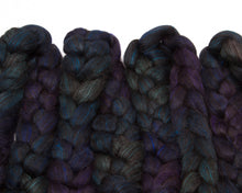 Load image into Gallery viewer, Black Alpaca/ Cultivated Silk (4oz)