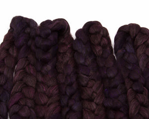 Black Alpaca/ Cultivated Silk (4oz)