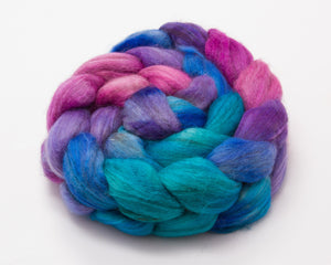 Merino Wool/ Yak/ Silk Roving (4oz)