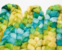 Load image into Gallery viewer, Merino Wool/ Llama/ Silk Roving (4oz)