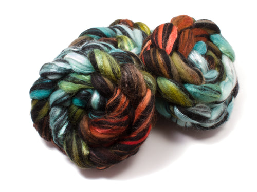 Blueface Leicester BFL Wool/ Silk (4oz) | Combed Top / Roving for Spinning and Felting