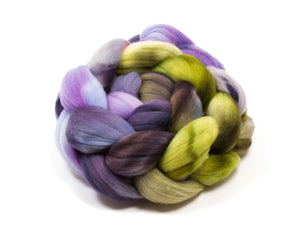 Rambouillet Roving - Hand Dyed Roving (Combed Top) for Felting or Spinning