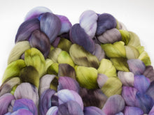 Load image into Gallery viewer, Rambouillet Roving - Hand Dyed Roving (Combed Top) for Felting or Spinning