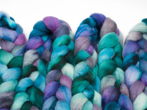 Blueface Leicester - BFL Wool (4oz) | Combed Top / Roving for Spinning and Felting
