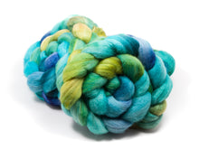 Load image into Gallery viewer, Polwarth/ Silk Roving (75/25) | (Combed Top) Hand painted Felting or Spinning Fiber