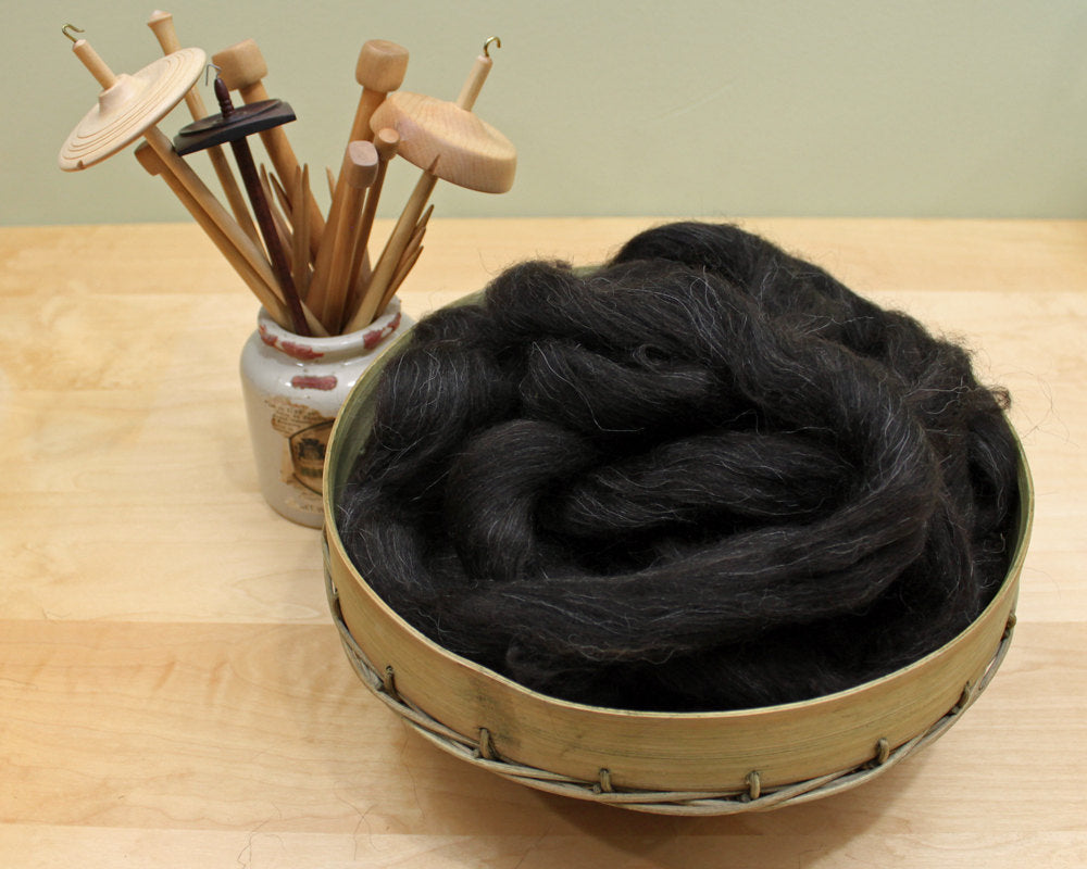 Icelandic Wool - Natural Black (8oz)