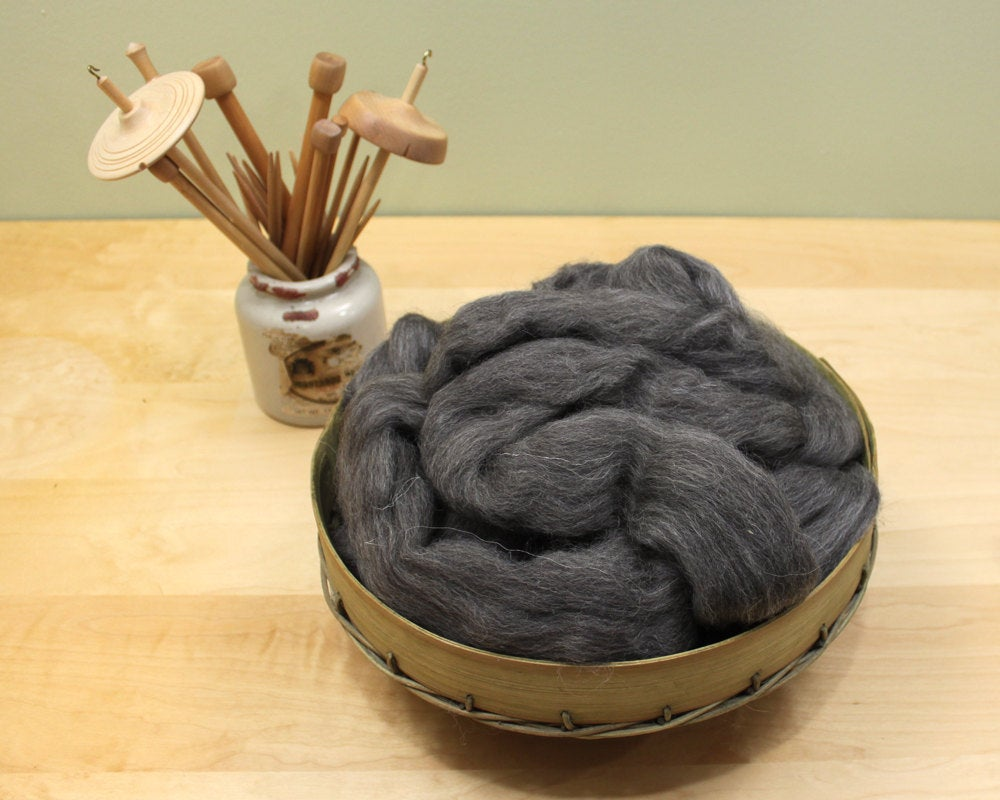 Finnish Wool - Natural Gray (8oz)