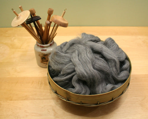 Shetland Wool - Natural Gray (8oz)