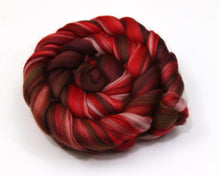 Load image into Gallery viewer, Merino Wool Roving (combed top) - Custom Blended Commercially Dyed Roving for Spinning or Felting - 4 oz