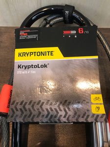 Kryptonite Lock KryptoLok STD w/ 4' Flex