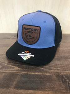 Factory Hat - Blue/Black