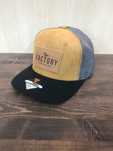 Factory Hat - Brown/Grey