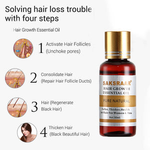 Hair growth essential oil