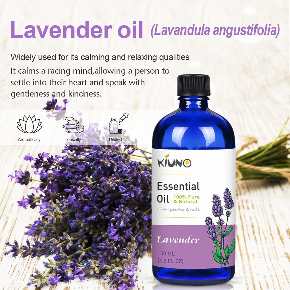 Lavender Essential Organic Oil For Stress Relieve