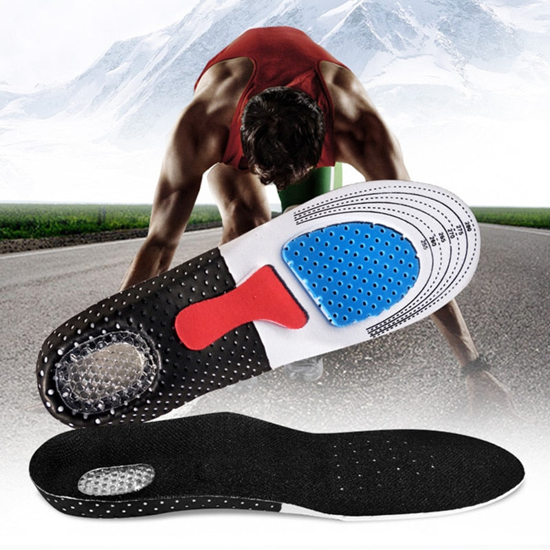 Orthopedic Shoe Insoles Silicone Shock Absorber