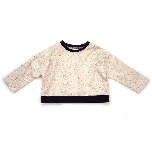 crop sweatshirt : 116