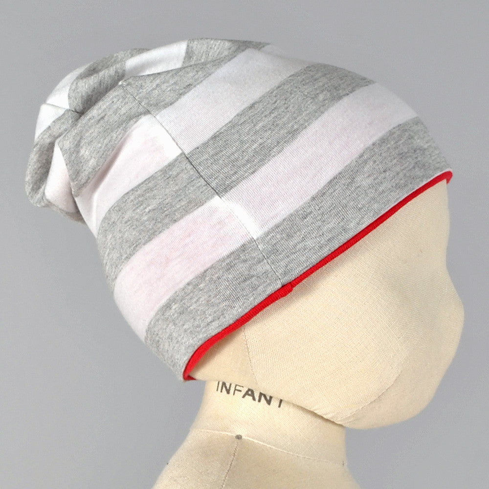 Slouch beanie sewing pattern - Brindille & Twig