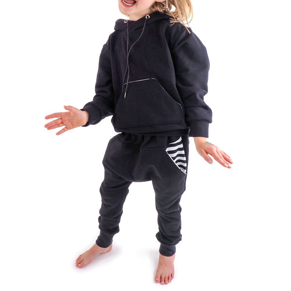 Black and white kids outfit
