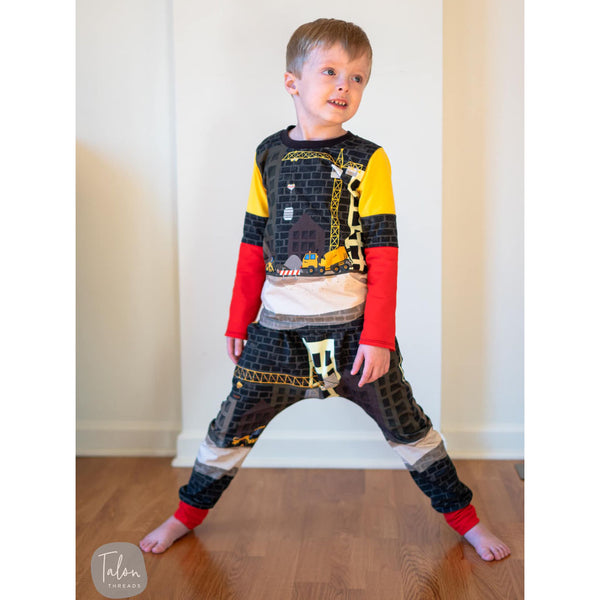 boys lego outfit