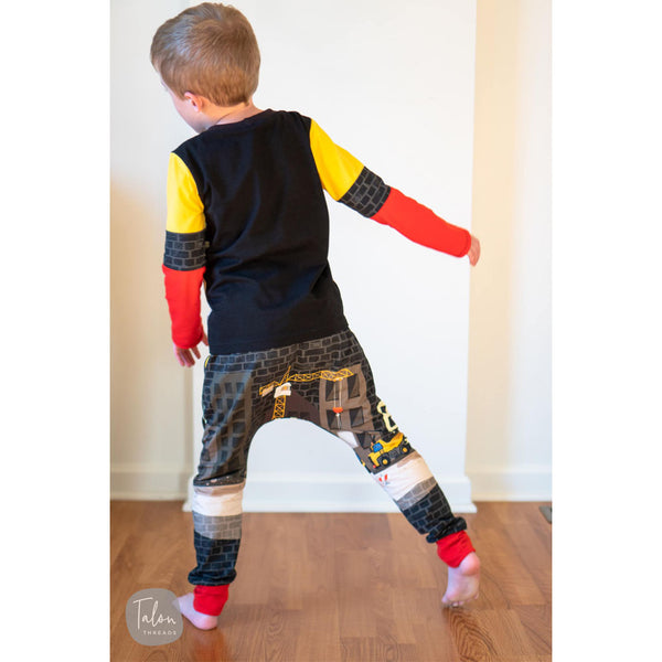 boys colorblock outfit