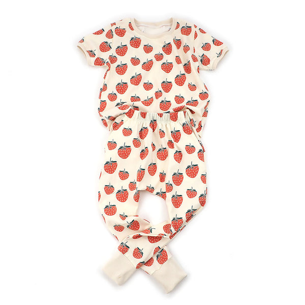 kids strawberry outfit