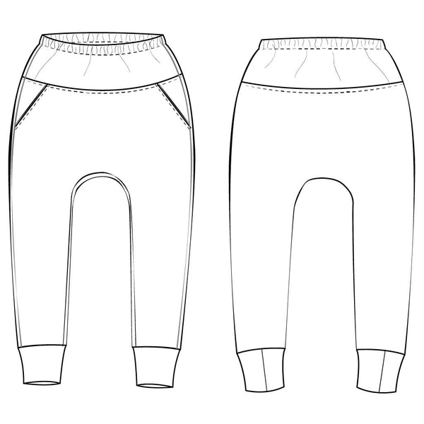 Joggers sewing pattern