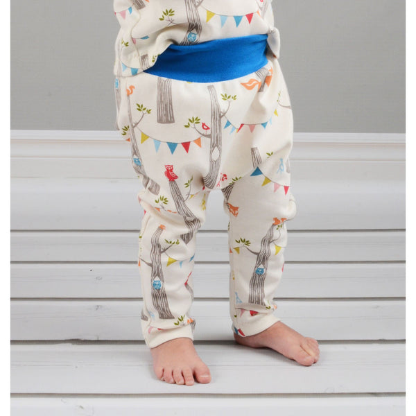Easy harem pants sewing pattern pdf - Brindille & Twig