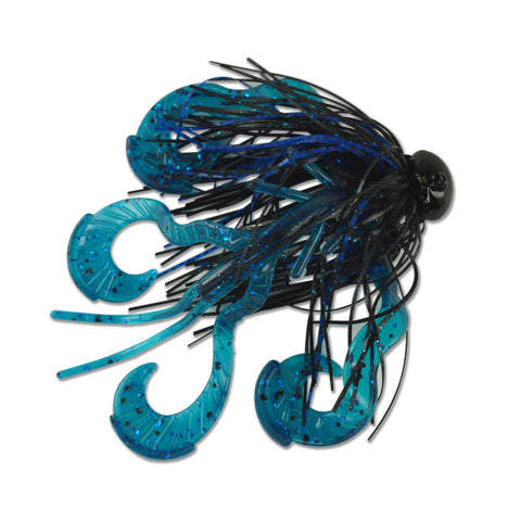 Boss Hawg + Skirt + Football Jig (3/4 oz)