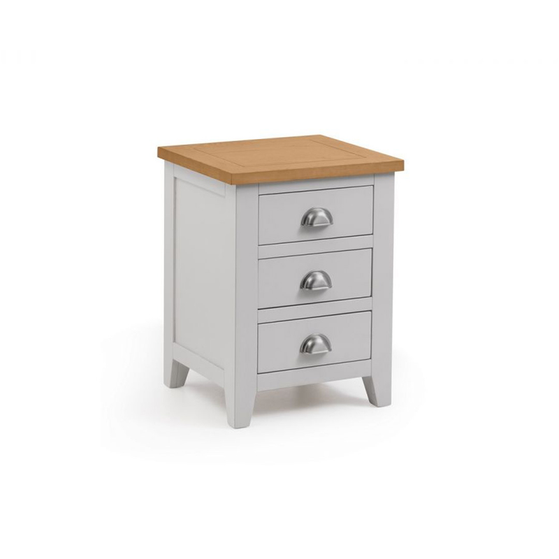 Julian Bowen Richmond 3 Drawer Bedside