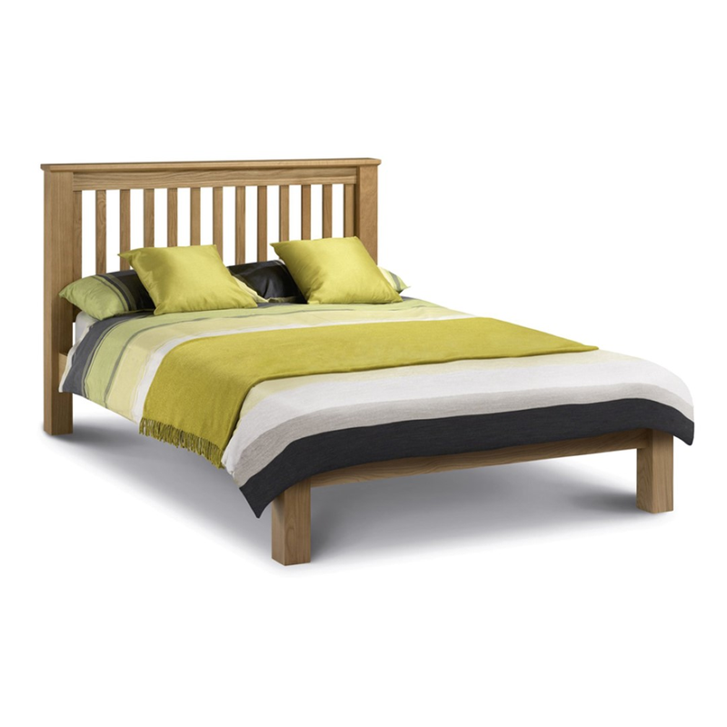 Julian Bowen Amsterdam Low Foot End Bed Super King Size Oak